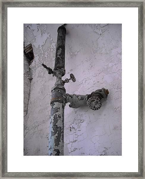 Lead Framed Print
