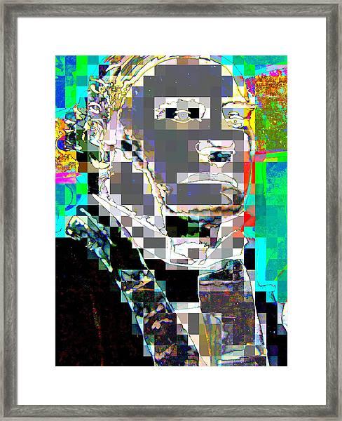Leader Framed Print