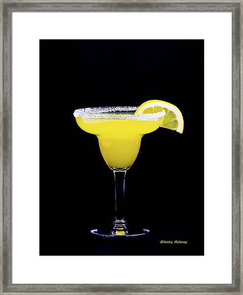 Lemondrop Framed Print