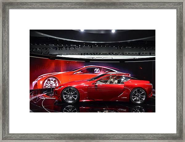 Lexus Lf-lc Framed Print