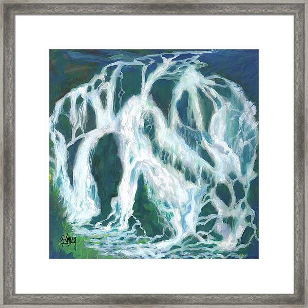 Life Flow Framed Print