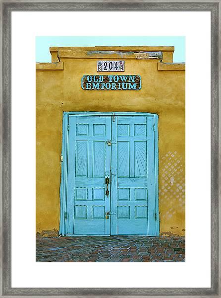 Light Blue Door Photograph By Steven Ainsworth