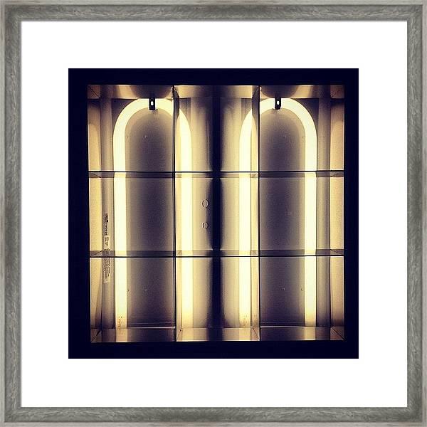 #light Framed Print