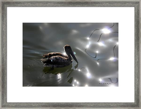 Light Dancer 2 Framed Print