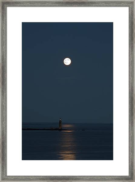 Light Of The Moon Framed Print
