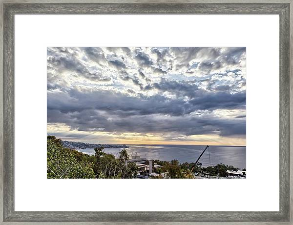 Light Over La Jolla Framed Print