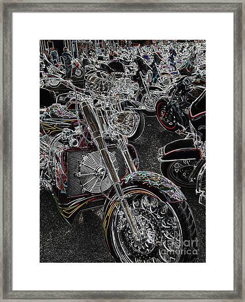Lights Out 2 Framed Print
