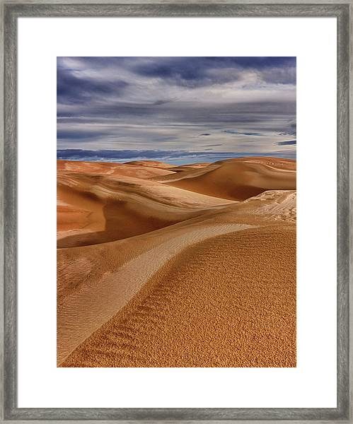 Lines To Infinity Framed Print