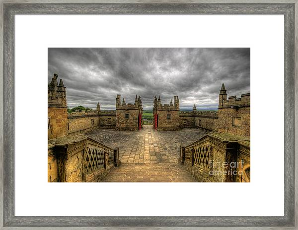 Little Castle Entrance - Bolsover Castle Framed Print