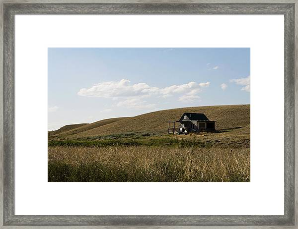 Framed Print featuring the photograph Little House On The Plains by Lorraine Devon Wilke