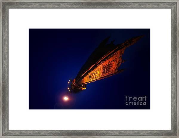Little Planet - Derby Cathedral Framed Print