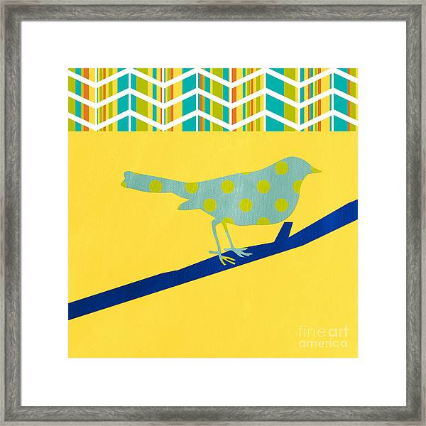 Little Song Bird Framed Print