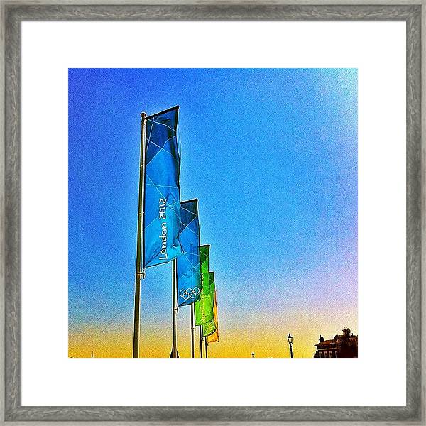 London 2012 Framed Print