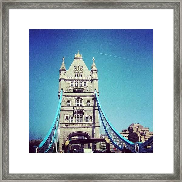 London Bridge, May - 2012 #london Framed Print