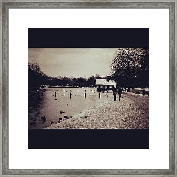 #london #hydepark Framed Print