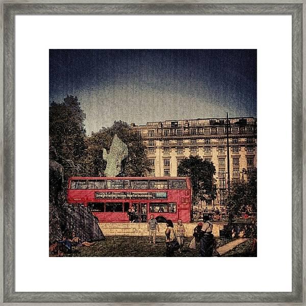 London Hydrpark | May 2012 , #london Framed Print
