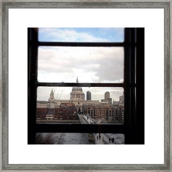 London Love Affair #photooftheday Framed Print