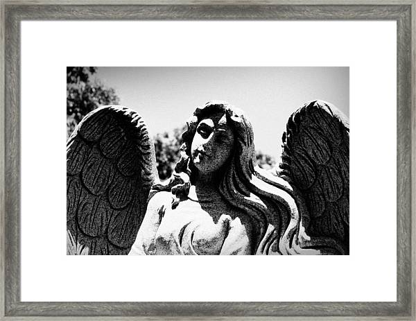 Long Haired Angel Framed Print