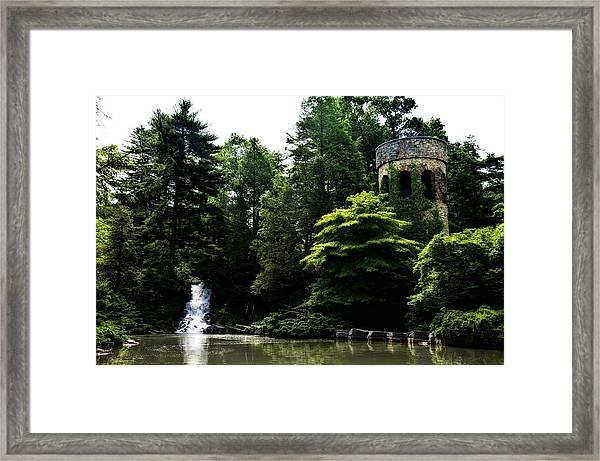 Longwood Garden Castle Framed Print