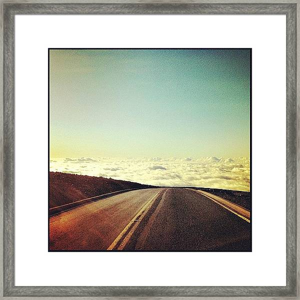 Looking For Cloud 09 Framed Print