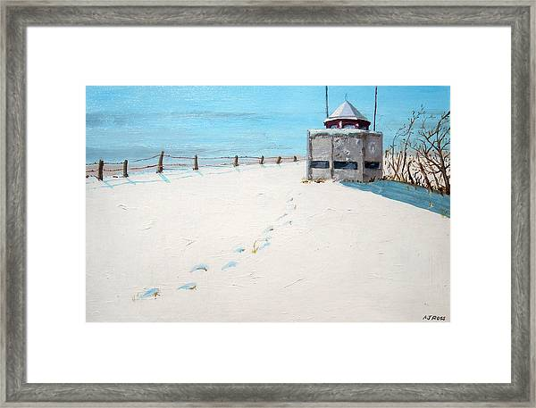 Lookout On Forest St Framed Print
