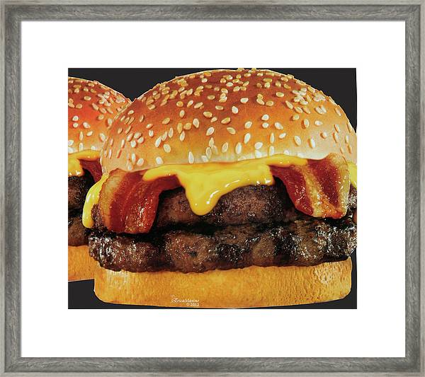 Looks Like Lunch Is Here Framed Print