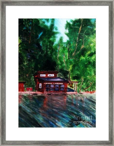 Loomis Landing Framed Print