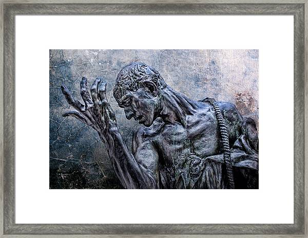 Lord Have Mercy Framed Print