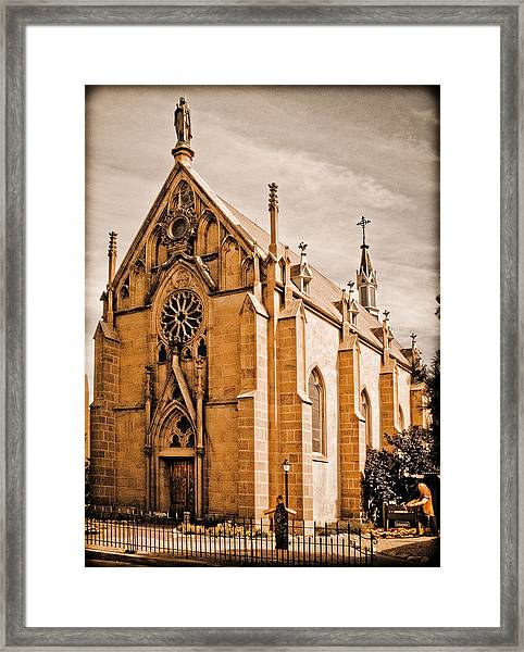 Loretto Chapel Framed Print