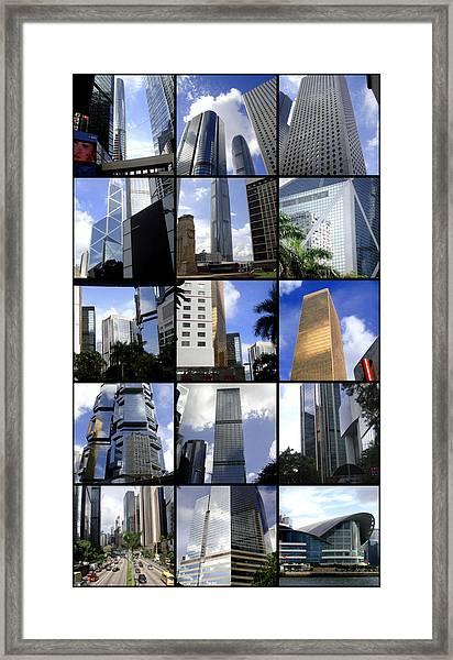 Lost In Hong Kong Framed Print