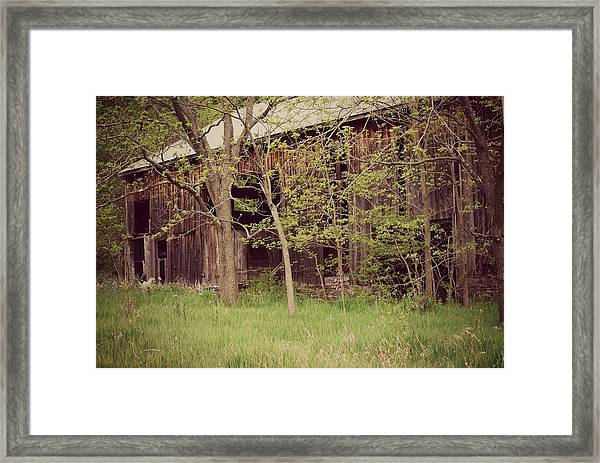 Lost In Time Framed Print by April  Robert