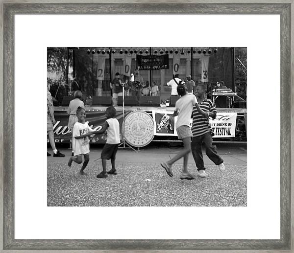 Louisiana Folklife Festival  Framed Print
