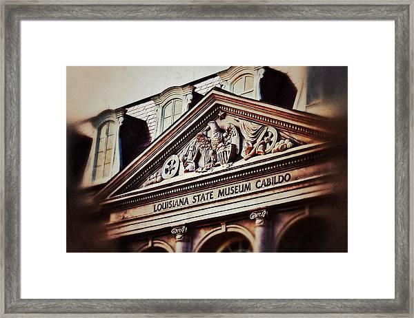 Louisiana State Museum Cabildo Framed Print