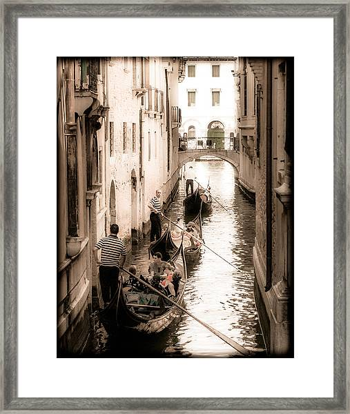 Love Canal Framed Print