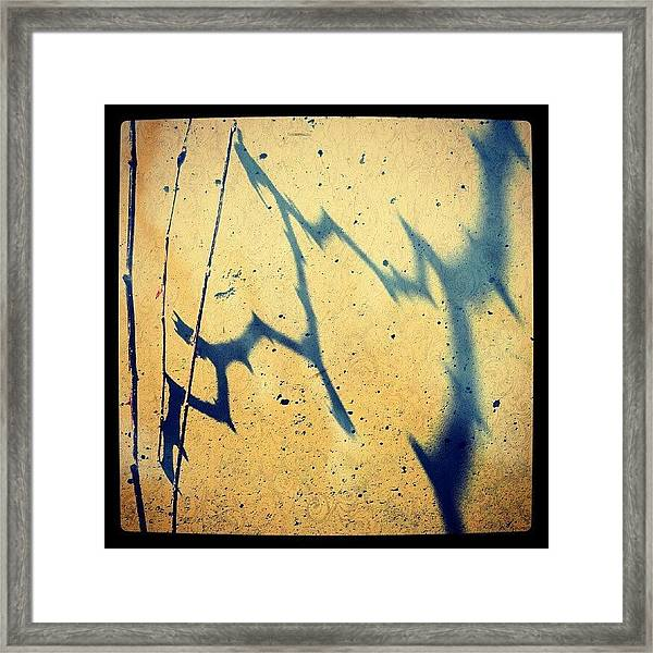 Low-angle Rays Framed Print by Yves Rubin