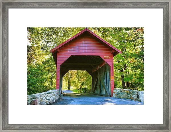 Loy's Station Bridge I Framed Print