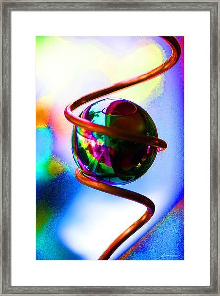 Magical Sphere Framed Print