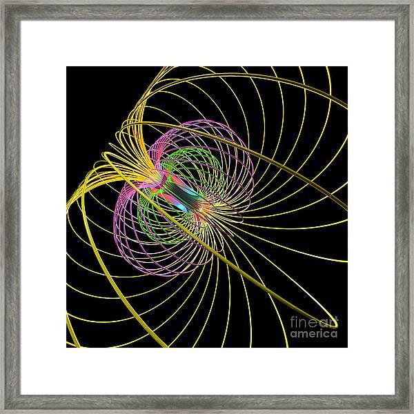Magnetism 3 Framed Print