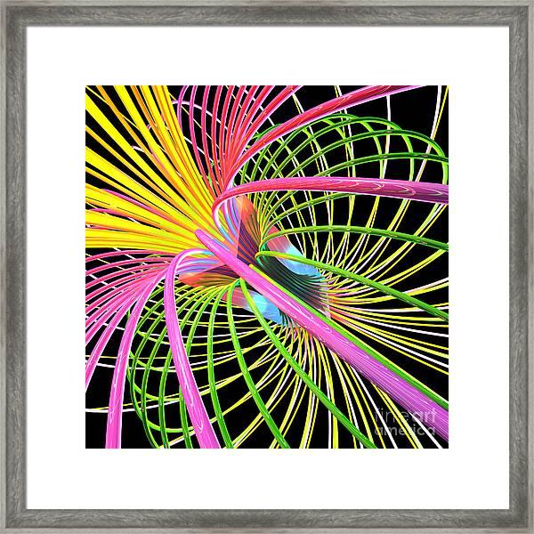 Magnetism 4 Framed Print
