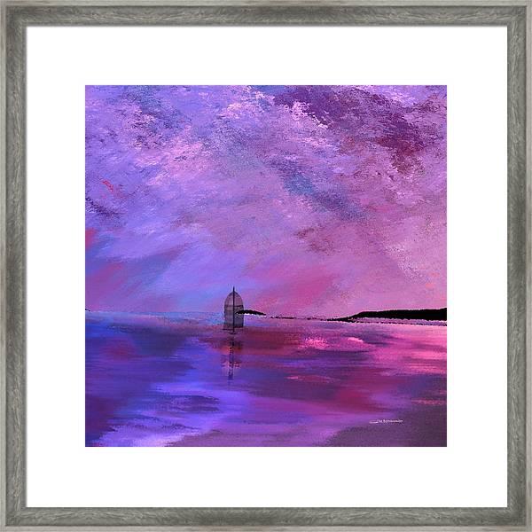 Majestic Square Framed Print