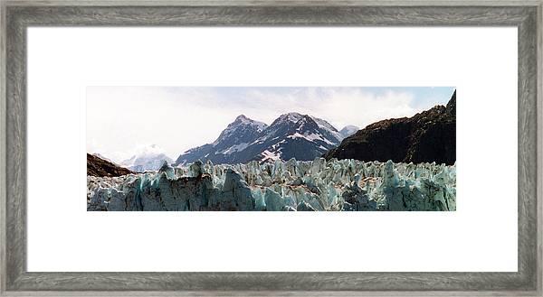 Margerie Glacier View Framed Print
