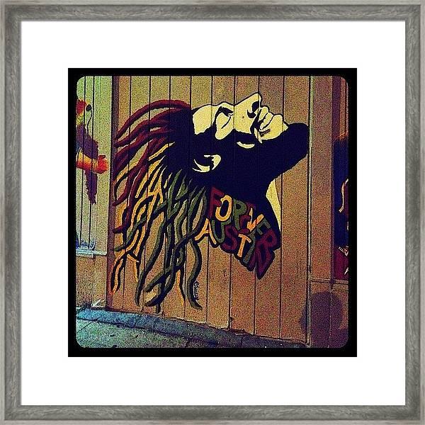 Marley Mural Framed Print