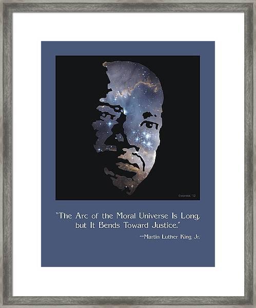Martin Luther King, Jr. Poster Framed Print
