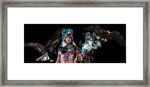 Mayan Spirit Framed Print