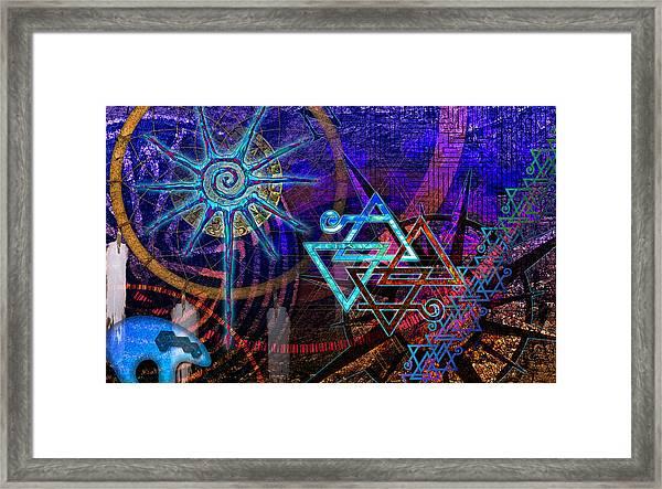 Mazes Framed Print