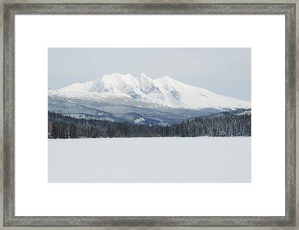 Mcdonnell Lake View Framed Print