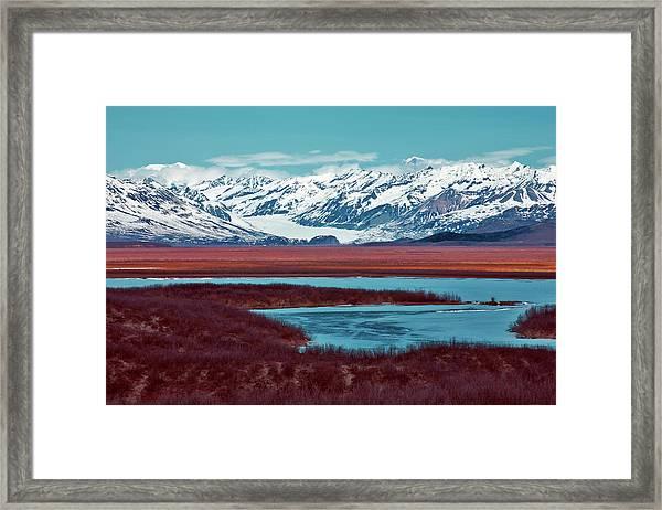 Mclaren Glacier Framed Print