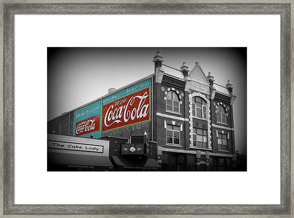 Mcpherson Kansas Opera House Framed Print