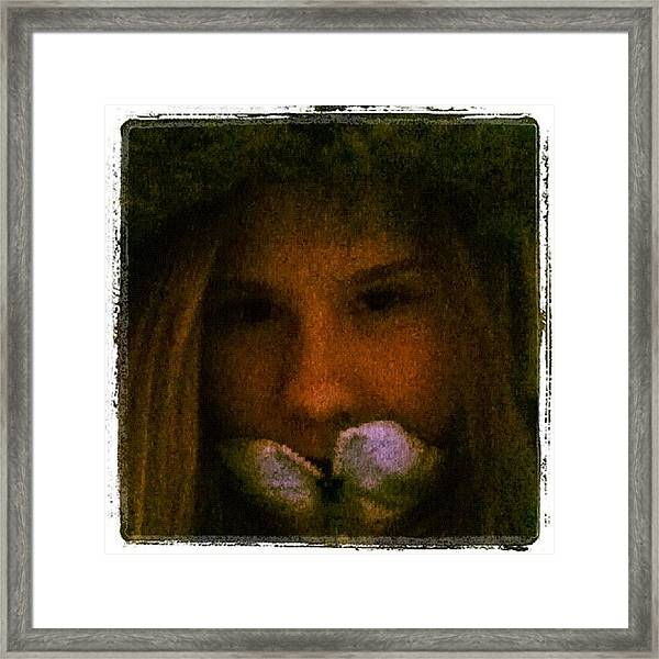 #me #edit #pretty #beautiful #beauty Framed Print