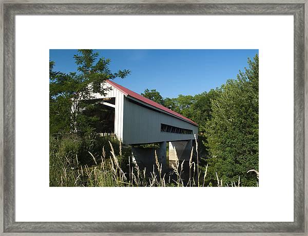 Mechanicsville Road Bridge Framed Print
